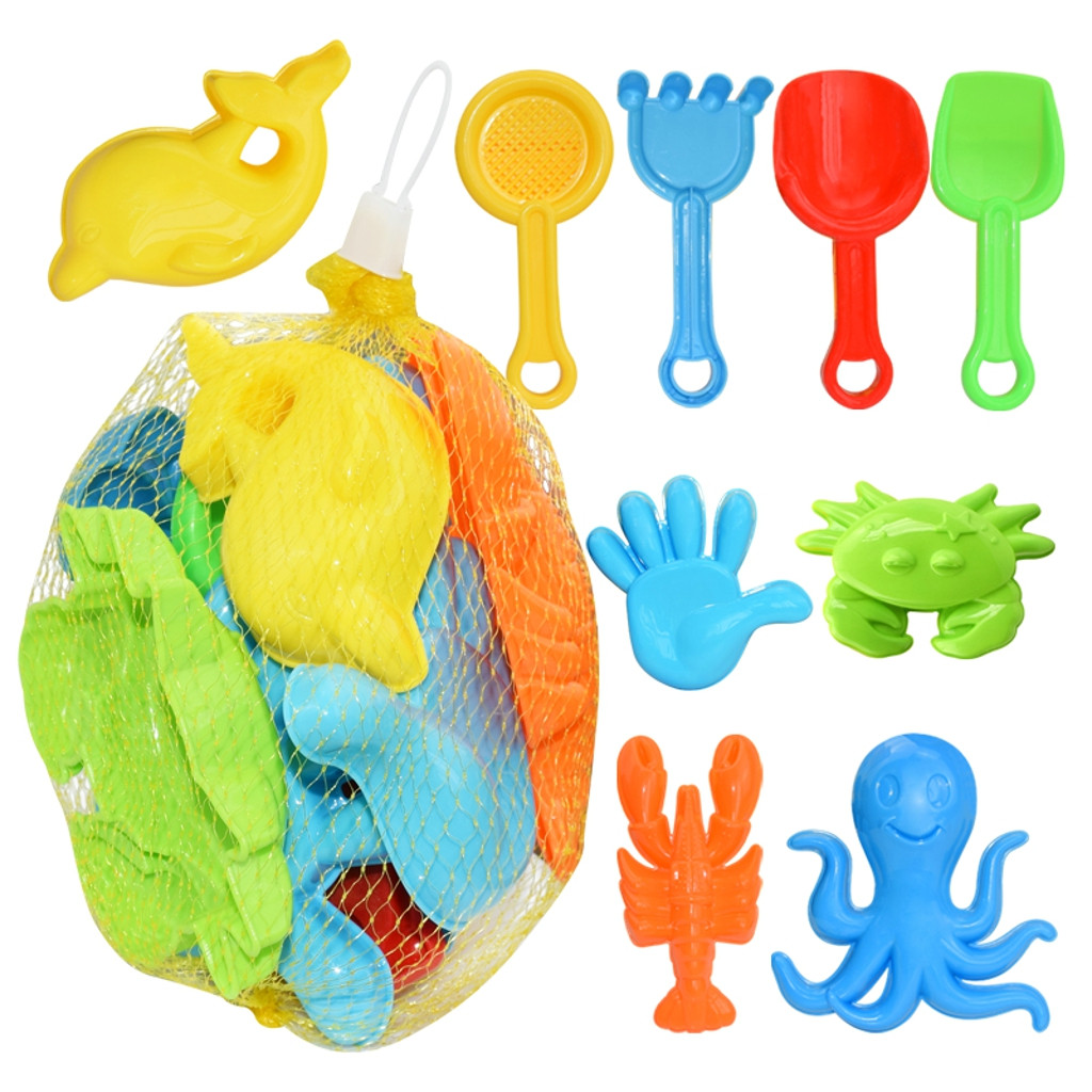 Huang Neeky #501 Colorful TOYS Kids Sand Toys Beach Tools Set Playing Toys Fun Outdoor Water Game Sandbox Funny Free Shipping