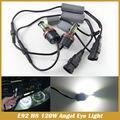 Livre de Erros 120 W E92 H8 alta Potência LEVOU Angel Eyes Lâmpadas Para BMW 1 3 5 Series Z4 X5 X6