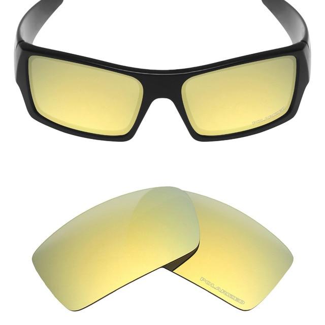 HKUCO Mens Replacement Lenses For Oakley Big Taco Red/24K Gold/Titanium Sunglasses mlugzrSl2