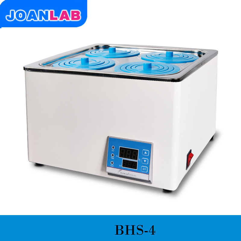 JOANLAB laboratorio termostato Digital baño de agua 4 orificios olla de baño ampliamente utilizada en el secado, concentración, destilación, prueba de temperatura