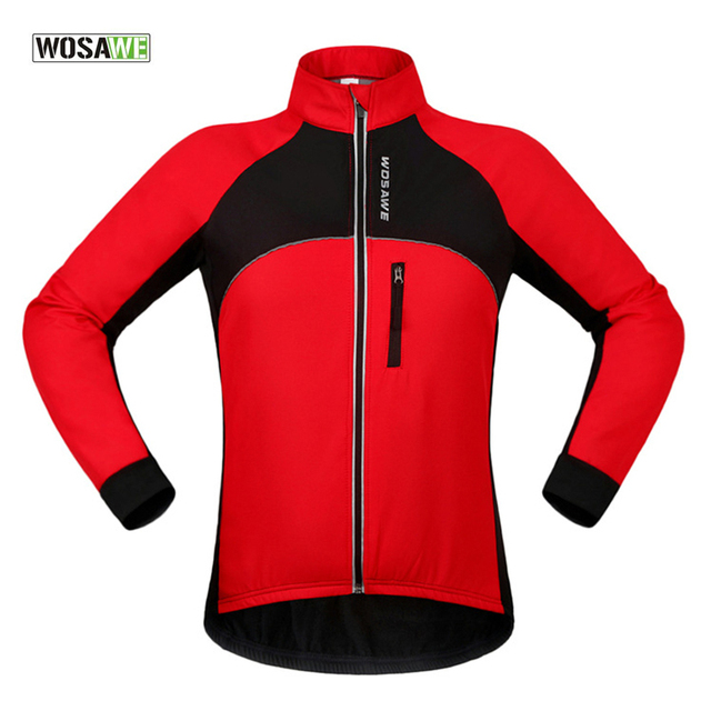 Reflektierende Motos Jersey Radtrikot Kleidung Radfahren Männer Winter Jacke Berg In Ciclismo Bike Mtb Thermische Fleece Wosawe uOkXZiP