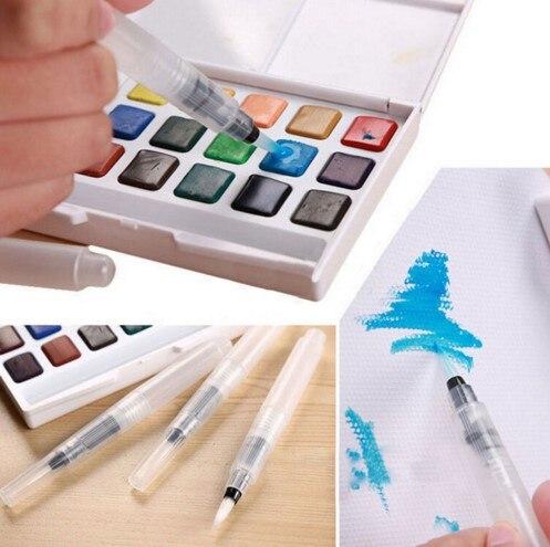 Paint brush l/m/s Waterbrush Water Tank Calligraphy Brush Pen Watercolor calligrahy brush art marker pen water color