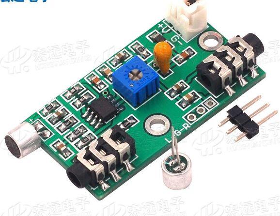 Microphone amplification module Audio amplifier circuit ac signal amplifier boardMicrophone amplification module Audio amplifier circuit ac signal amplifier board