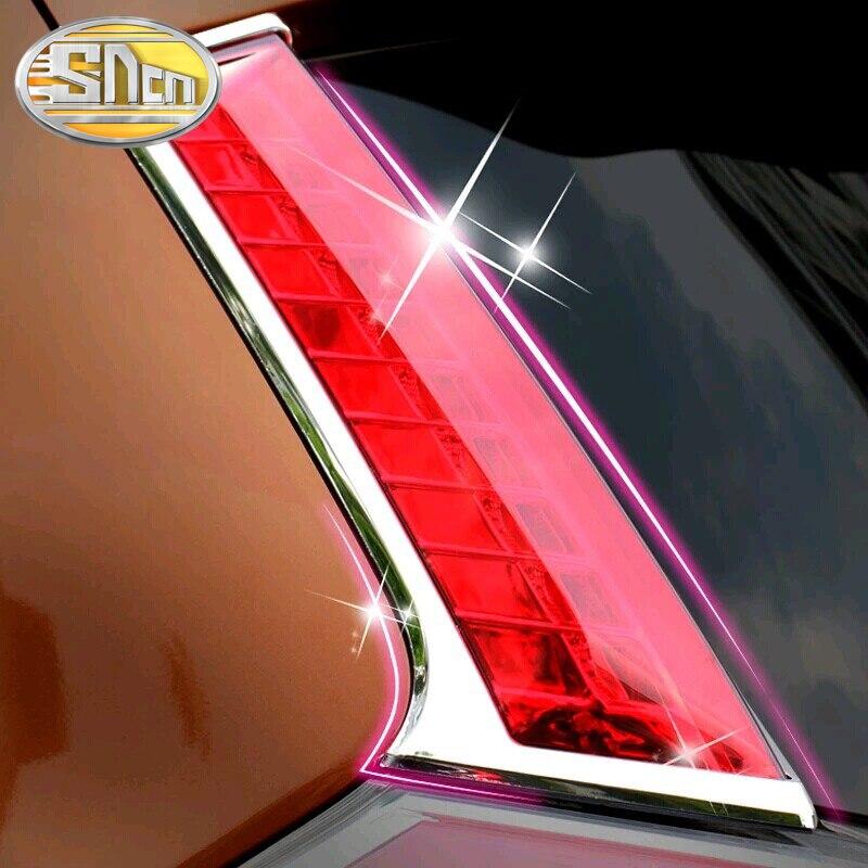 2PCS LED Rear Pillar Lamp For Nissan X trail T32 2014 2015 2016 2018 Bumper Light