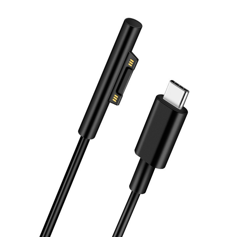 USB Type-C To Surface Connect Charging Cable For Surface Pro 3 4 5 6 Go Book1 Book2 Laptop 15V USB PD Charging