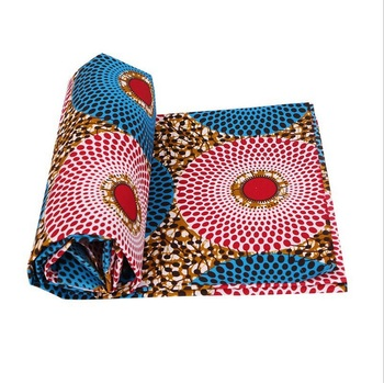 b7725466c Lwx748 tela africana 6 yardas de tejido africano barato al por mayor cera  Africana imprime tela Super cera hollandais tela