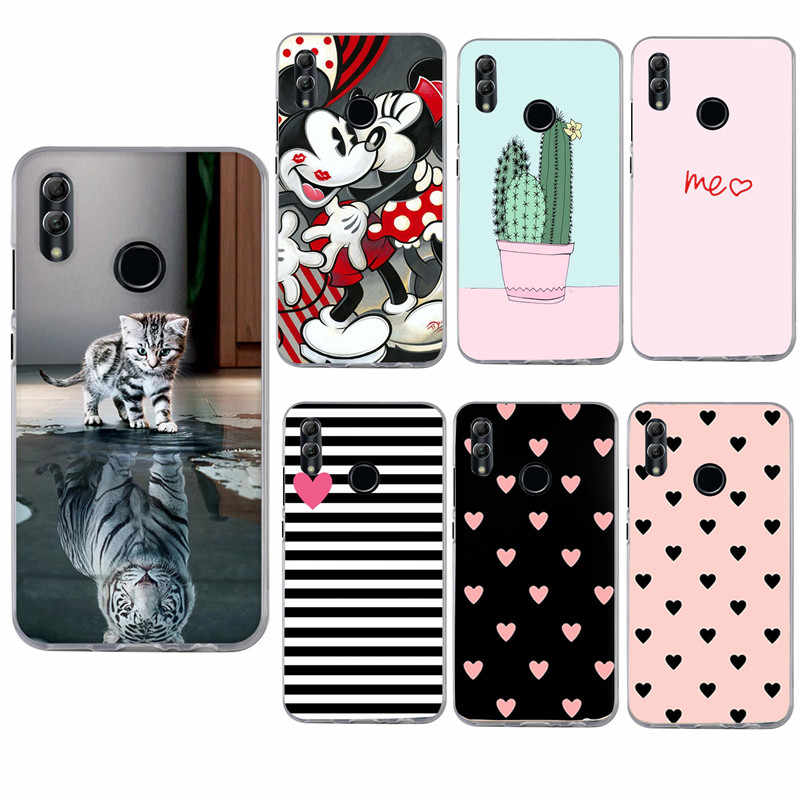 For Huawei Honor 10 Lite Case TPU Soft Silicone Back Shell Cover For Fundas Huawei P Smart 2019 Mate 10 20 P20 Lite Pro Coque