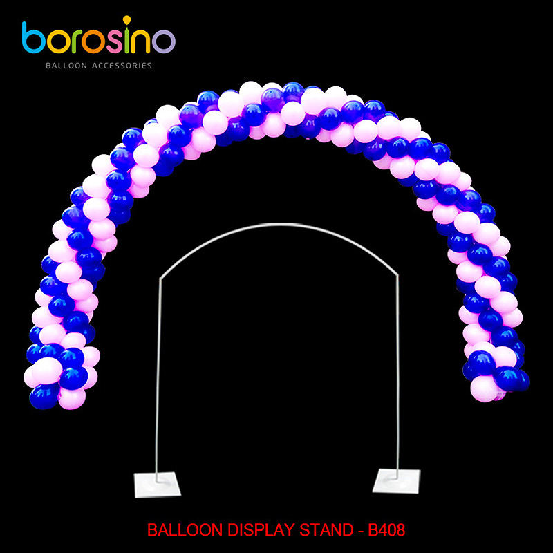 B408 Outdoor Wedding metal balloon arch stand