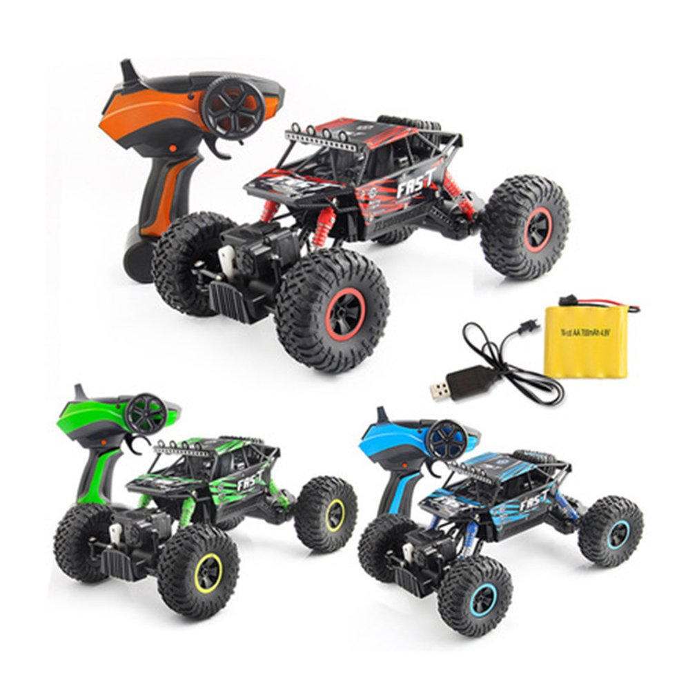 New YT-06 RC Car Large 2.4G 1:18 Vehicle Buggy High Speed Racing Car Remote Control Truck Four-wheel Climber For Kids Boys Gift