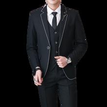 hot deal buy mens suits jackets & pants & vests max size 5xl suit 3 piece sets men business wedding banquet male blazer suits