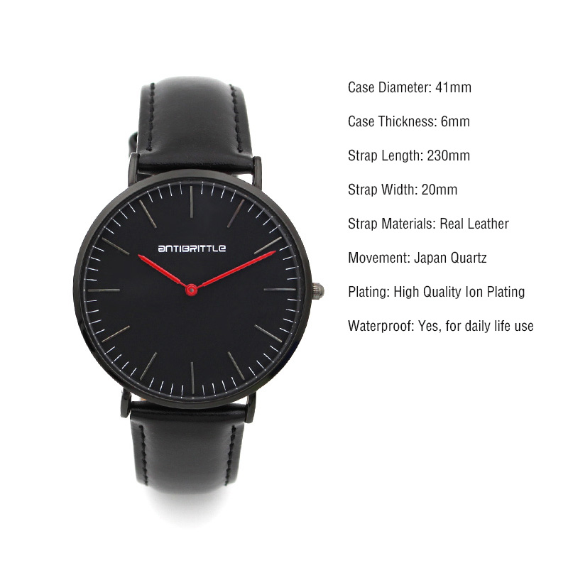 2017 saat New Top Brand Luxury Simple Quartz Watch men Casual Black red 2 hands leather ultrathin men watches clock male Relogio 2017 classic new brand simple style top famous luxury brand quartz watch women casual leather watches hot clock reloj mujeres