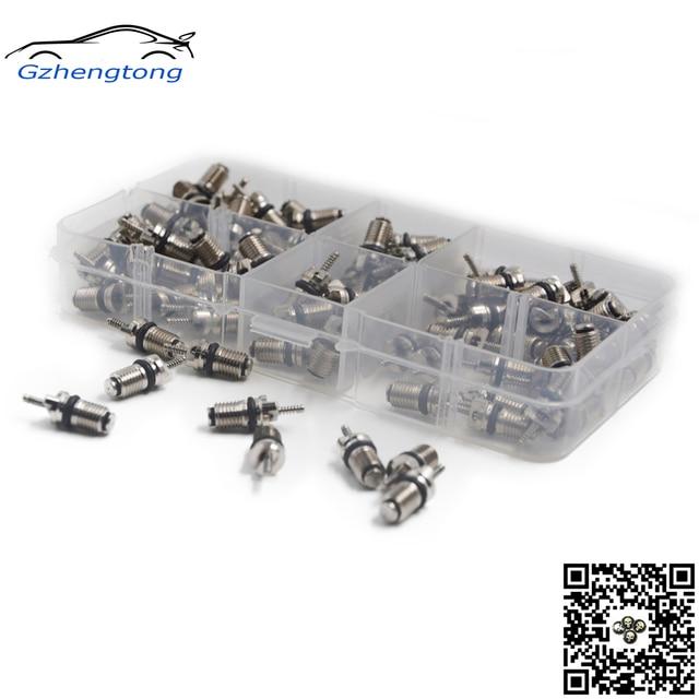 100pcs/Lot Black Color Auto Air Conditioning Repair Tool for R134A Core Environmental Temperature High Pressure Metal Valve Core