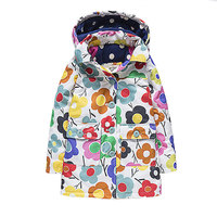 New Winter Windproof Thick Warm Kid Jackets For Girls Plus Velvet Turn Down Collar Hooded Long