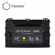Ownice 4G Android Car DVD Multimedia Player for Toyota Land Cruiser Prado 120 2002 2003 2004 2005 2006 2007 2008 2009 GPS Radio