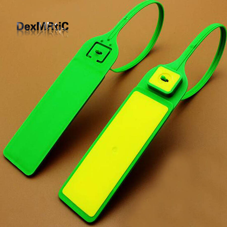 2pcs Electronic tag chip plastic seal RFID 915M RF cable tie 330mm long for logistics tracking