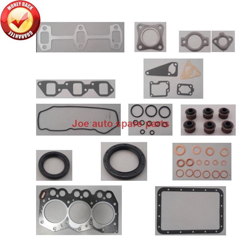 Moteur Complet joint ensemble kit pour Yanmar moteur: 3D66 3D66E 3TN66 3TNA66 3TNV66 3TNE66