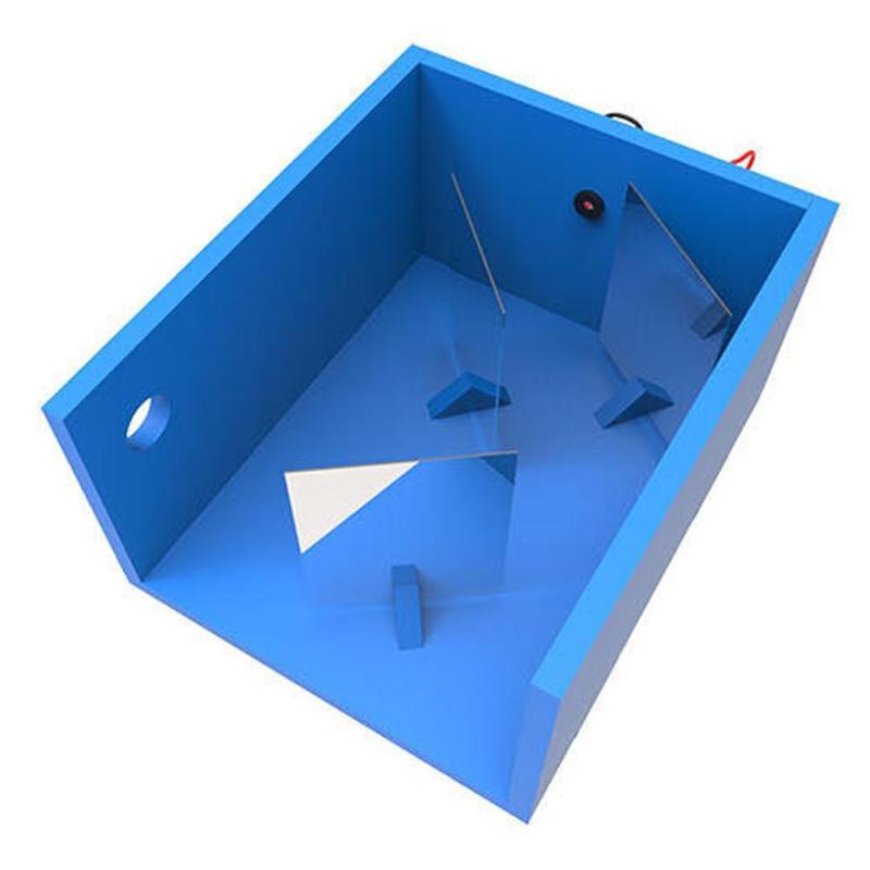 Kids Science Light Reflex Experiment Invention Equipment DIY Handmade Toy