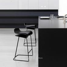 Современный минималистичный барный стул Европейский кованый барный стул высокий стул барный стул передний барный стул