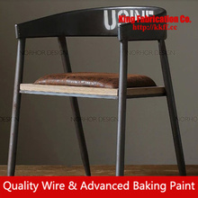 Old retro dining chairs coffee shop chair OEM manufacturers / wholesale