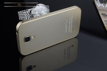 TUKE Hot sale ultrathin aluminum hard protective case for samsung S4 metal case for S4 i9500 back cover SJ0200