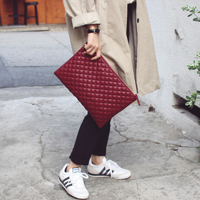 2017 Designer Clutch Famous Brand Women Clutch Bag Small Quilted Bag plaid Purse Mini Women's Crossbody Bag Messenger Bags