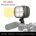 Zifon Zf-3000 светодиодов свадьба новости как заполняющего света камеры SLR камеры огни три цветовая температура