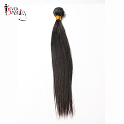 Straight Brazilian Hair Weave Bundles Natural Black 10-28inches Remy Human Hair Extensions 1 Piece Only Ever Beauty