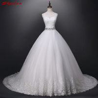 Vintage Lace Wedding Dresses Ball Gown Chinese Wedding Gown Weeding Bridal Bride Dresses Weddingdress Vestidos De