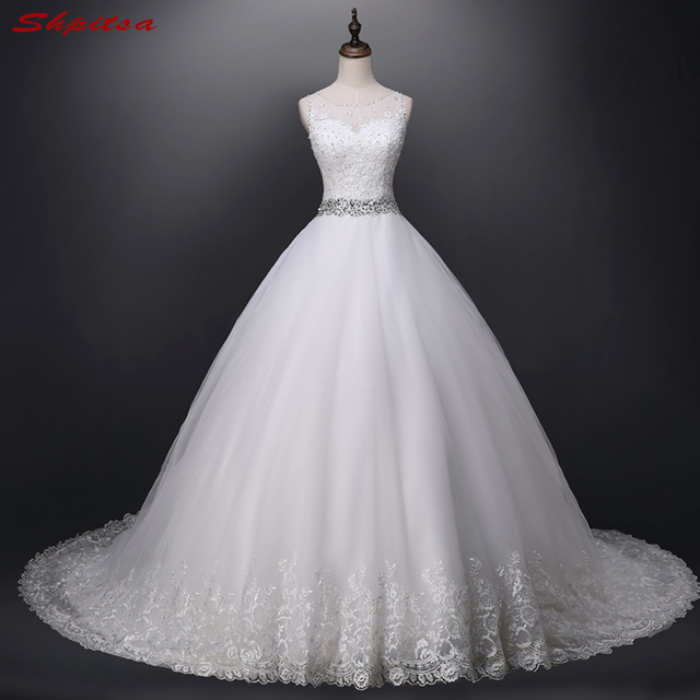 Vintage Lace Wedding Dresses Ball Gown Chinese Wedding Gown Weeding ...