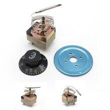Термостат Температура контроллер НЗ для 50-300C Электрический духовой шкаф AC 250V 16A