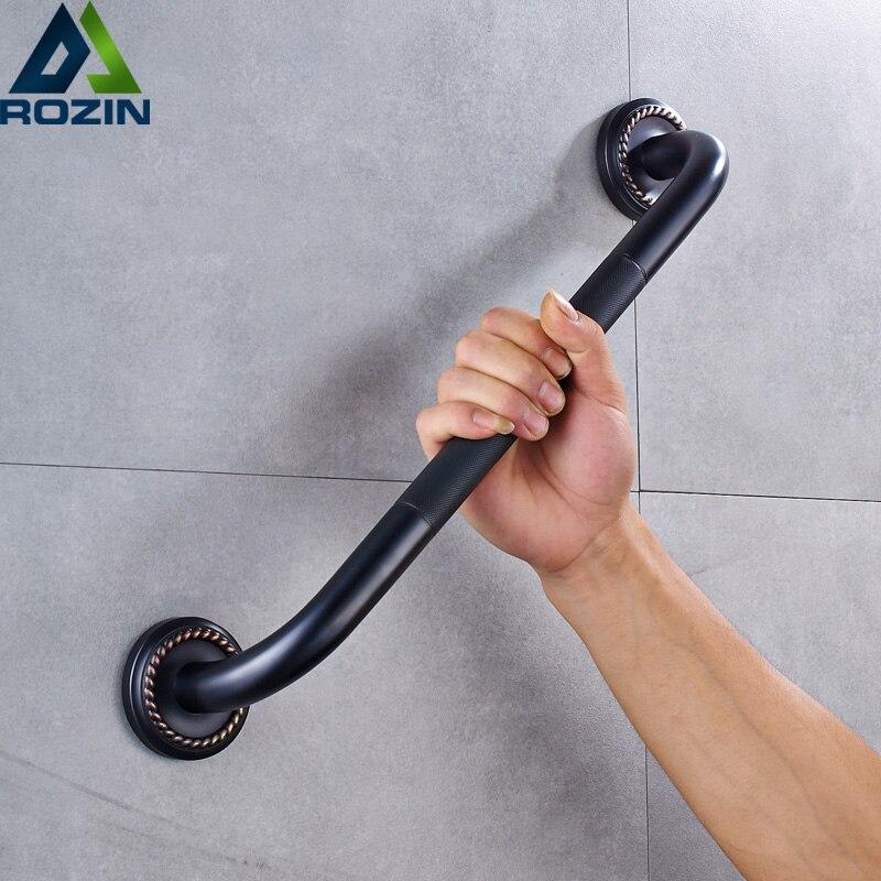 Free Shipping Bathroom Grab Bar For Elderly Black Bronze Shower Safety Helping Handle Wall