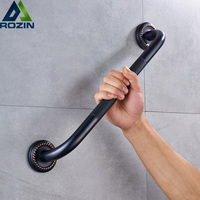 Free Shipping Bathroom Grab Bar for Elderly Black Bronze Shower Safety Helping Handle Wall Mounted Toilet Bathtub Handrail