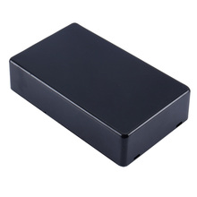 Waterproof Plastic Black DIY Housing Instrument Case Box Project Instrument Electronic Case Supplies 100x60x25mm