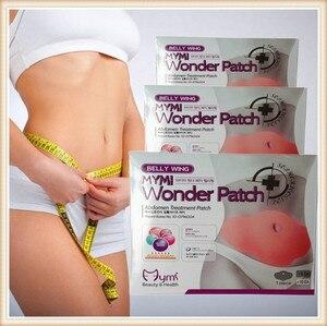 Image 4 - 120pcs wholesaler price MYMI Wonder Slimming Patch Belly Abdomen Weight Loss Fat Burning Cream Navel Stick Body Shapping Massage