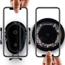 VEEAII 10 Вт Qi беспроводной Chargeur для iPhone X 8 Verre Rapide автомобильное беспроводное зарядное устройство беспроводной коврик для samsung Galaxy S9 s8 Plus