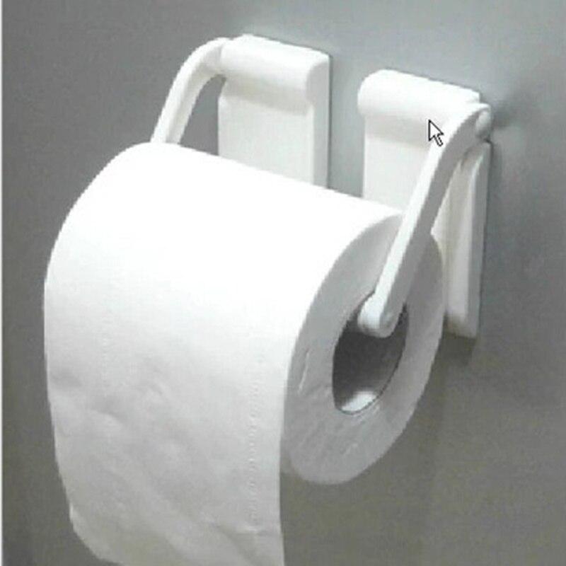creative adjustable toilet paper holder magnet towel rack white towel holder paper roll. Black Bedroom Furniture Sets. Home Design Ideas