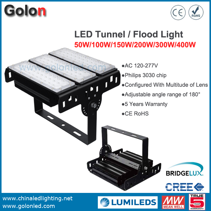 150W LED Flood Light Meanwell Driver PhilipsSMD 5 Years