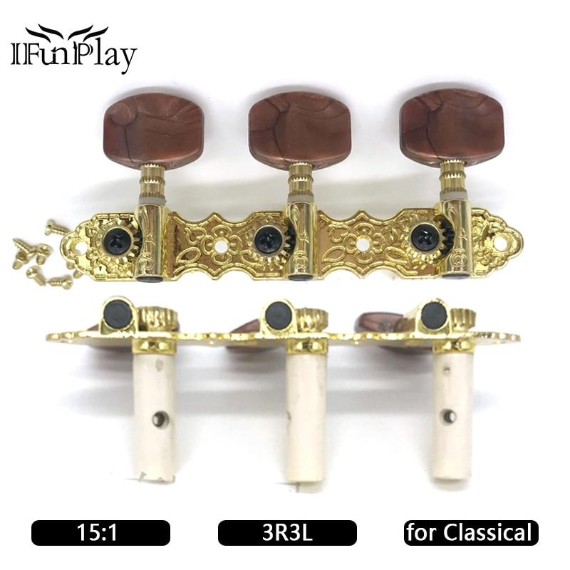 Classical Guitar Locking Tuners : classical guitar locking string tuning pegs tuner machine heads agate head 3r3l for classical ~ Hamham.info Haus und Dekorationen