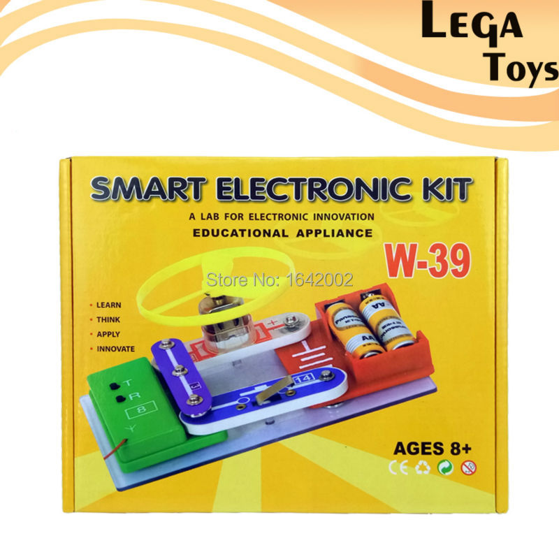 Electronic Learning Toys For Toddlers : Small electroni blocks kit innovation learning toy diy