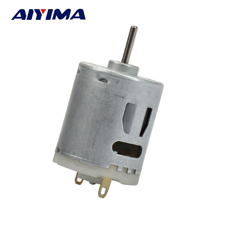 AIYIMA 1pcs RS365 SH Motor 6-20 VDC DC Motor Hair Dryer Appliance Blow Drier Motor