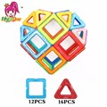 28 unids/lote amor en forma de corazón imanes modelo bloques de construcción de juguete diy 3d diseñador magnética educativos construcción enlighten bricks