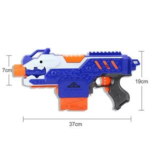 Image 5 - Jouet pistolet électrique pour garçons, balle souple, costume pour Nerf fléchettes, Blaster, fusil de Sniper, pour tirer en extérieur, modèle 2020