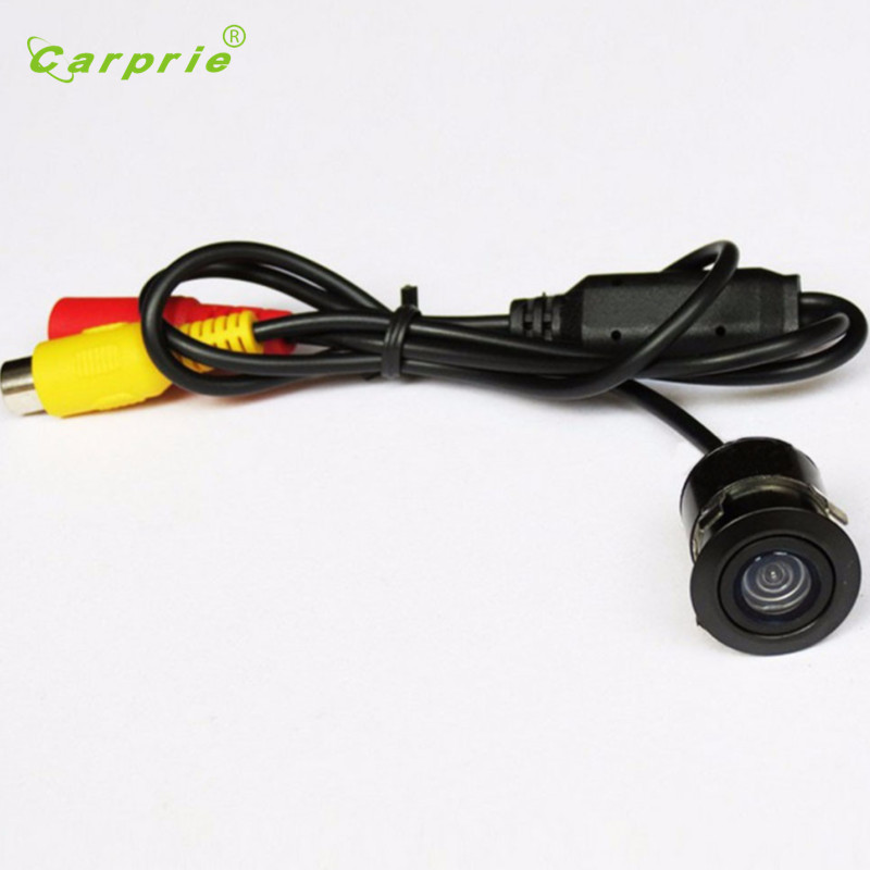 Tiptop NEW   1/4` CCD Flush Mount Waterproof Truck Car Reverse Backup Rear View Camera Free Shipping L623