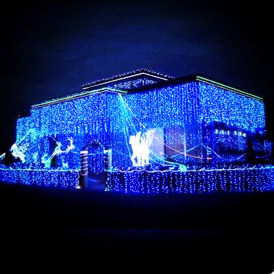 New Year 4x0.6M LED Cristmas Lights Garlands Decoration LED Christmas Lights Outdoor Luces De Navidad Natal String Light