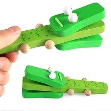 Милые кастаньеты, музыкальные инструменты, игрушки для детей, деревянные игрушки, Хлопушка, ручка для развития ребенка, музыкальные развивающие игрушки для детей, подарок