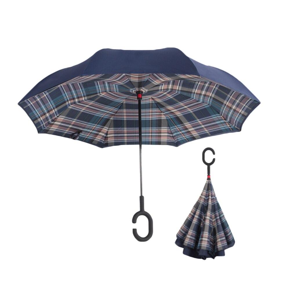 Silkclo New Windproof / Uv Protection Reverse Umbrella - Haushaltswaren - Foto 3