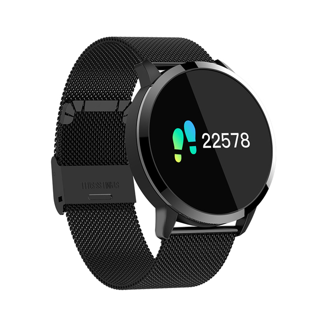 Bracelet Color Blood Oxygen Heart Rate Monitor Bluetooth Smart Watch 5