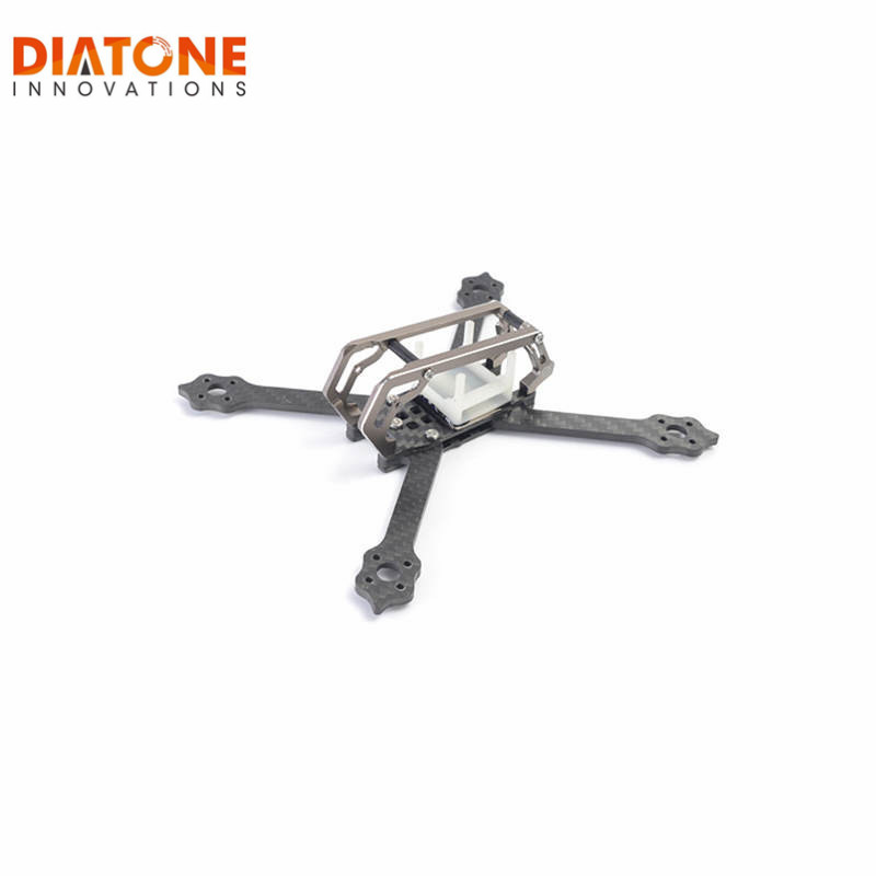 Diatone 143mm Stretch X Type 3mm Arm Frame Kit 2018 GT-M3 For FPV Racing RC Quadcopter Camera Drone Spare Part Accessories цена