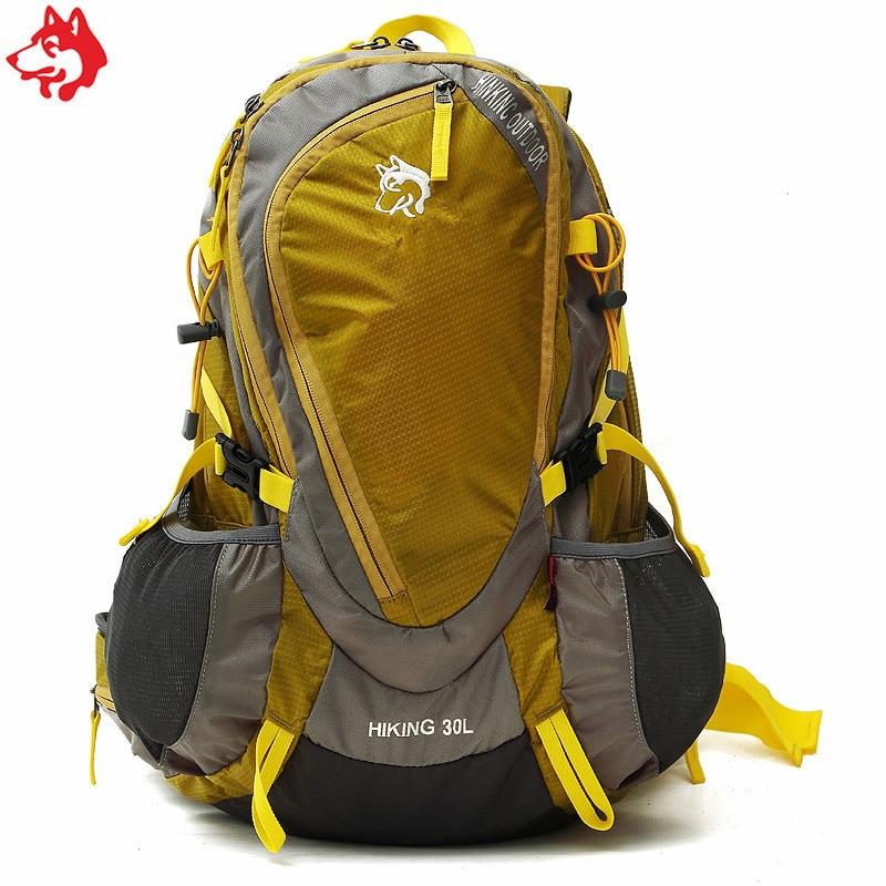 30L acampar al aire libre senderismo mochila China calidad rojo ...