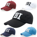 Drop shipping High quality Wholesale Retail Canvas brand Hat Cap FBI Fashion Leisure embroidery CAPS Unisex Baseball Cap